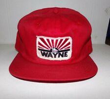 Vintage WAYNE K Brand Trucker Snapback Cap Hat