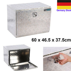 LKW Anhänger Riffelblech Alukoffer Alubox Staubox Deichselbox Werkzeugkasten DHL