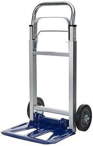 Bt-ht Truck Capacity 90 Folding Load Sack Trolley Aluminium Frame Rubber Wheels