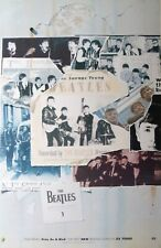 "BEATLES ""ANTHOLOGY 1 ""FEATURING FREE AS A BIRD"" NEW ZEALAND PROMO POSTER"