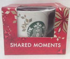 Starbucks Coffee Holiday Christmas Mug Cup 14 Oz Shared Moments 2013 Limited Ed.