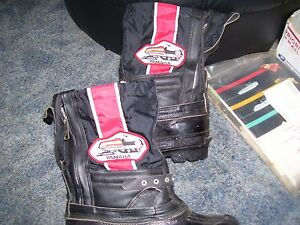 vintage yamaha snowmobile boots size mens 7