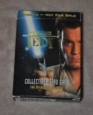 STAR WARS EPISODE 1 YOUNG JEDI COLLECTIBLE CARD GAME TWO 20-CARD SAMPLE DECKS