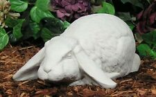 French Lop Down Cotton Tail Baby Bunny Rabbit Latex Fiberglass Mold Concrete