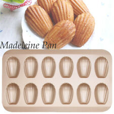 Mini Cake Pan Madeleine Tray Mold Non Stick Cookie Pans Baking Tray Biscuit Pan