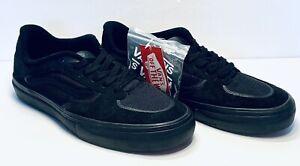 NEW Vans Rowley Rapidweld Black Blackout Men's Size 8.5 Extra Laces Black