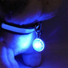 Luminoso LED Parpadeante Seguridad Collar De Perro Luz Recoger Navidad