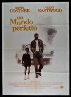 Werbeplakat Ein Welt Perfekt Perfect World Eastwood Costner Laura Dern M280