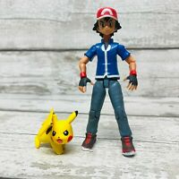 Nintendo Tomy Pokemon Ash & Pikachu Action Figures Set Rare