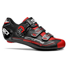Sidi Genius Carbon Men's Road Cycling Shoes Black/Red