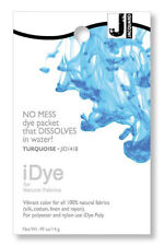 Jacquard iDye Fabric Dye Natural Fibres  14g  - Turquoise