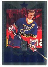 1995-96 Donruss Elite Die Cuts Uncut 58 Wayne Gretzky