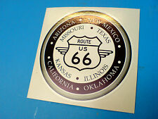 Route 66 & Estados coche Retro Hot Rod Motorhome Sticker Decal 1 De 85mm
