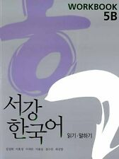 New Sogang Korean 5B WORK BOOK Korea Grammar Speaking Wrighting K pop Drama
