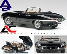 AUTOART 73605 1:18 JAGUAR E-TYPE ROADSTER SERIES I 3.8 BLACK METAL WIRE WHEELS