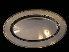 Plat Art Déco en Argent Plaqué Christofle Silver Silber 40,5 cm