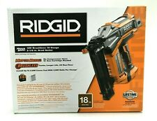 Ridgid 18V Brad Nailer Cordless Brushless Hyperdrive 18-Gauge 2-1/8 in. R09890B