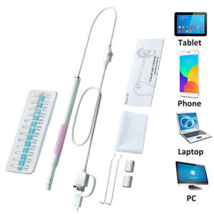 Digital USB LED Otoscope Ear Inspection Camera Scope Earwax Remover Cleaning Kit