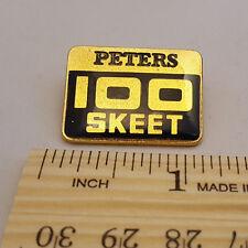VINTAGE PETERS 100 SKEET PIN - NEW - FREE SHIPPING