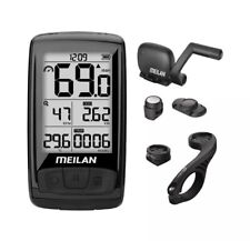 MEILAN M4 Wireless Bike Computer, IPX5 Waterproof Cycling Computer with 2.5 I...