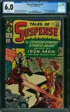 Tales of Suspense #52 CGC 6.0 1964 1st Black Widow! Avengers! White! H12 356 cm