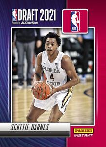 2021-22 Panini Instant NBA Draft Night Scottie Barnes PRESALE