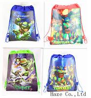 Teenage Mutant Ninja Turtles Kids Backpack Environmental toy Drawstring bag DDD*