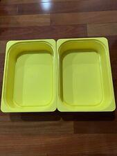 IKEA Trofast Storage Box Bin Yellow