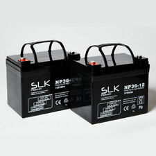 SHOPRIDER CADIZ 2 x 12v 36AH AGM Mobility Scooter Wheelchair Batteries -