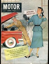 Motor Magazine April 1952 Sell Used Cars GD No ML 030317nonjhe