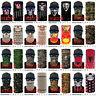 Unisex Bandana Head Face Mask Neck Gaiter Snood Headwear Tube Scarf Multi Styles