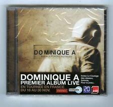 CD (NEUF) DOMINIQUE A SUR NOS FORCES MOTRICES