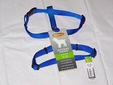 New listing New w Tags Medium Male Female Puppy Dog Pet Blue Nylon Adjustable Strap Harness