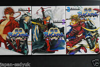 JAPAN Kairi Shimotsuki manga: Sengoku Basara: ran-se-ran-bu 1~3 Complete Set