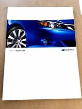 2008 Subaru 40-page Sales Brochure Catalog - Outback Legacy Forester WRX Impreza