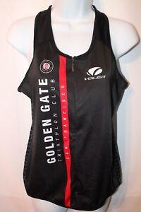 Voler Women's Cycling Vest Jersey Golden Gate Triathlon Club SF Sz XL
