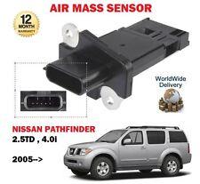 FOR NISSAN PATHFINDER 2.5TD YD25DDTI 4.0 VQ40DE 2005--> NEW AIR MASS SENSOR