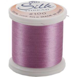 Kanagawa / YLI 100% and #100 Silk Thread [ 203 - Bright Liliac ]