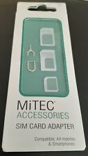 BNS MiTEC Accessories SIM Card Adapter & Eject Tool Compatible with most 'phones