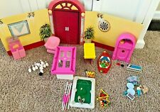 Vintage 1988 Barbie and Skipper Game Room with Cool Tops Kevin (cute boyfriend)
