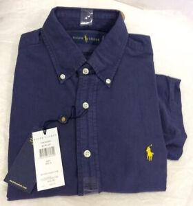 Polo Ralph Lauren Mens Oxford Short Sleeve Shirt Small