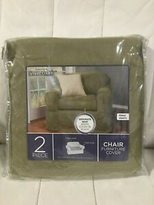 Brand New Maytex Smart Cover Chair Furniture Cover -Suede 4001113 J