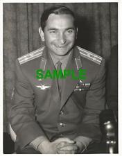 ORIGINAL PRESS PHOTO RUSSIAN COSMONAUT VALERY BYKOVSKY OF VOSTOK-5 1967