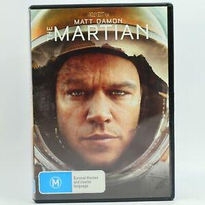 The Martian Matt Damon DVD R4 Movie Good Condition Free Tracked Post