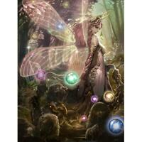 5D DIY Full Drill Diamond Painting Fantasy Fairy Cross Stitch Embroidery #gib