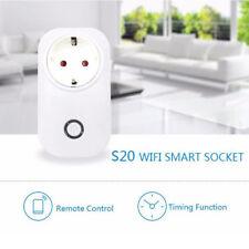 Sonoff S20 WIFI Smart Home APP Remote Control Timer Socket EU Plug Steckdose