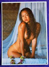 Nude Topless Tahiti Tahitian Hawaii Hawaiian Hula Polynesian Islander Girl PC #5