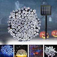 100 LED Solar Power String Lights Fairy Lamp Patio Yard Decor Waterproof 39.4 ft