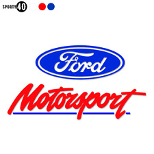 2x Ford Racing - Vinyl Sticker / Decal - Motorbike Car Motorsport Racing