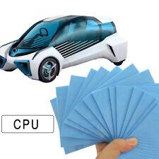 GPU CPU Heatsink Cooling Thermal Conductive Silicone Pad 100 x 100 x 0.5mm Blue